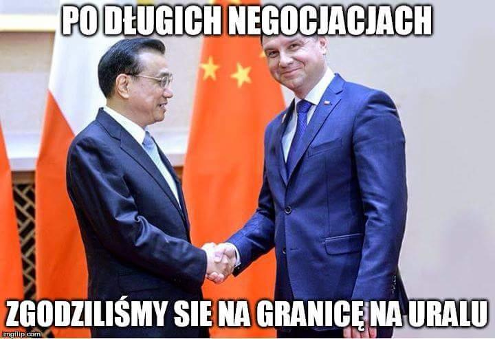 Duda w Chinach